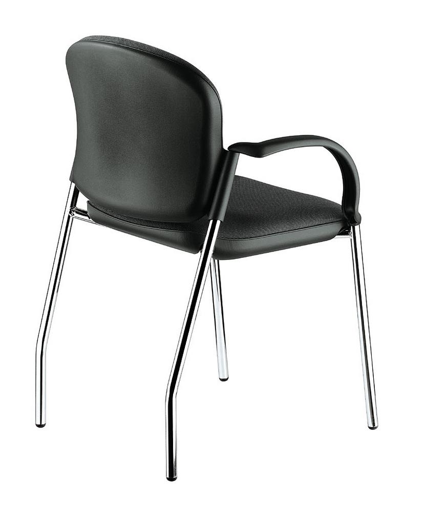 Silla ergon mica interlocutora espaldar asiento tapizado for Silla interlocutora