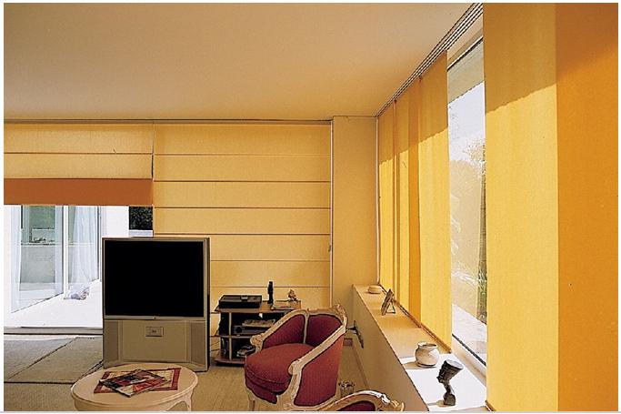 Cortinas tipo romanas clasico contemporaneo variedad telas for Catalogo de cortinas para sala