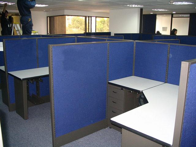 Puestos operativos independientes modulos oficina muebles for Modulos para oficina