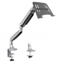 Soporte balance premium Accesorio para LCD para oficina y hogar.Características – diseño: sistema de gas que permite perfecto balance en cualquier sentido. Prensa para superficies de espesor desde 1 cm a 8 cm.Para monitores de 13″ a 27″.Para monitores hasta de 9 kg.