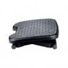 Descansapies Superficie bascula suavemente para mejorar el retorno venoso. Superficie con caucho texturizado que evita que los pies se deslicen. Excelente resistencia a la humedad y al impacto