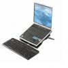 Soporte  sencillo 3 posiciones Accesorio para computador portátil para oficina y hogar.Características – diseño: Capacidad de carga 3 Kg.Liviano, plegable y portátil. Caucho antideslizante en la plataforma para que el portátil no se resbale.